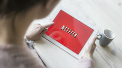 Netflix reports big beat after the bell