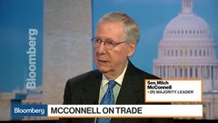 McConnell Says Senate Won't Vote on New Nafta Deal Until 2019