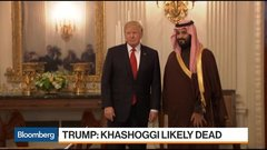 Trump Warns Saudis of Severe Consequences on Khashoggi