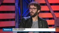 Josh Groban's returns with newfound entrepreneurial experience and a new album