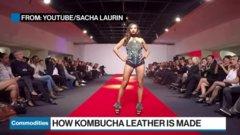 Power Shift: Fashion designers use kombucha to make leather