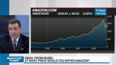Andrew Pyle discusses Amazon