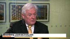 Barclays' McFarlane says he heard no solutions from Bramson