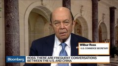 Sec. Ross Says China Made 'Very Welcome Moves' on Trade