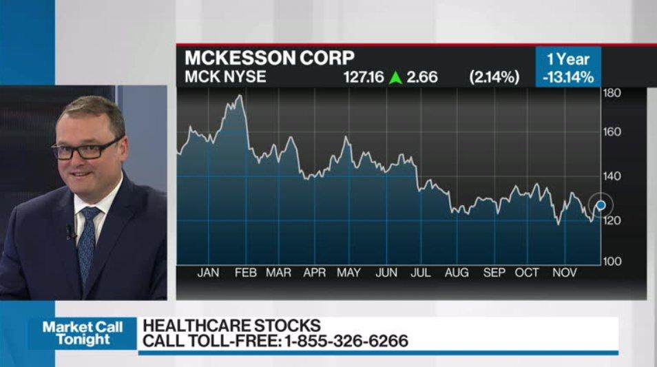 Paul MacDonald discusses McKesson - Video - BNN