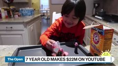 The title for top YouTube earner goes to a 7-year-old who rakes in $22 million a year