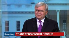 Former Australian PM Rudd Weighs In on Global Trade Tensions
