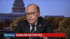 NEC's Kudlow Says Fed Seems to Align With Trump on Rates