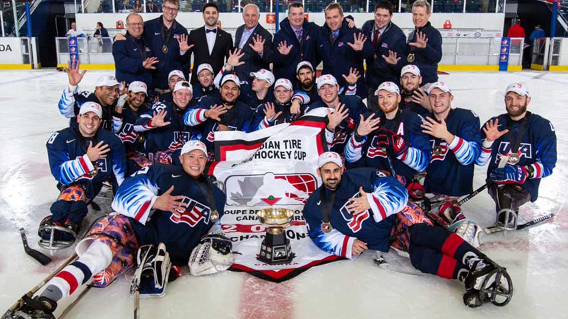 USA Edges Canada To Capture Para Hockey Cup Gold Medal (video)