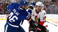 Senators not dwelling on Monday's loss, focused on Leafs