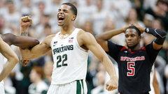 NCAA: Rutgers 72, (4) Michigan State 76 (OT)