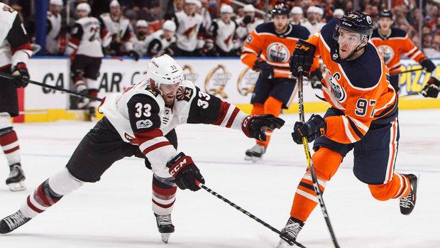 Oilers look to snap three-game skid in Arizona