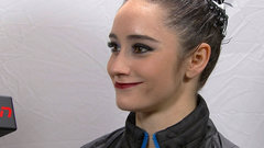 Osmond admits mistakes cost her, sole focus becomes Olympics