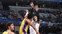 NBA: Lakers 114, Grizzlies 123