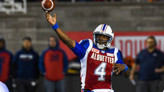 Durant cut by Alouettes, Eskimos sign QB Glenn