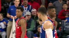 Simmons and Lowry both get ejected after skirmish