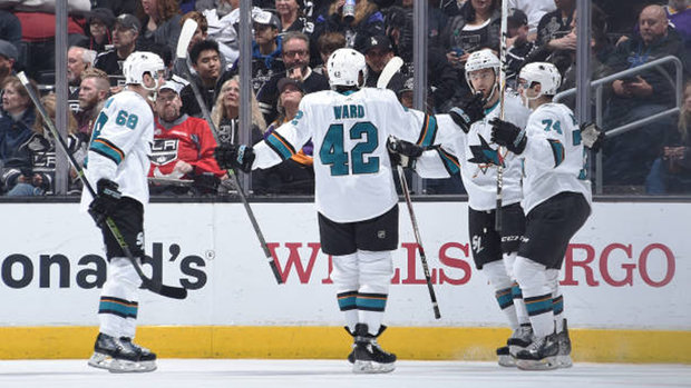 NHL: Sharks 4, Kings 1