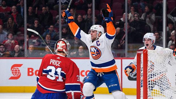 NHL: Islanders 5, Canadiens 4 (OT)