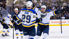NHL: Blues 2, Maple Leafs 1 (OT)