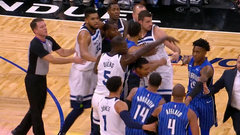 Must See: Fight breaks out between Afflalo, Bjelica