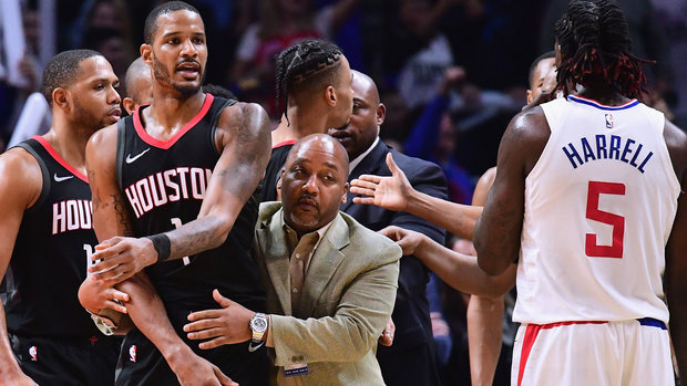 Plenty of reaction from around NBA following Rockets/Clippers fireworks