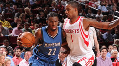 Timberwolves and Rockets ready to move on from recent fights