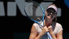 Sharapova downs Sevasota to advance to third round in Melbourne