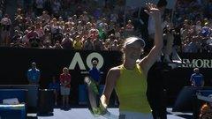 Wozniacki finishes off third-set comeback