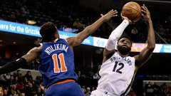 NBA: Knicks 99, Grizzlies 105