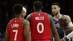 Raptors hope to rise above recent NBA drama