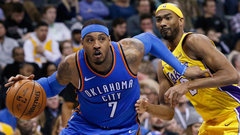 NBA: Lakers 90, Thunder 114