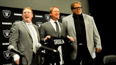 Gruden: 'Have to hire best staff possible'