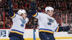 NHL: Blues 4, Senators 1