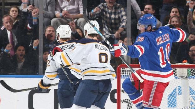 NHL: Sabres 3, Rangers 4