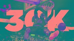 LeBron bolsters legacy with 30K milestone