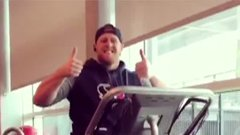 Watt making progress on treadmill