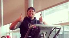 Watt making progress on treadmill
