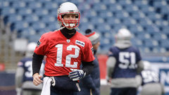 Brady's collision in practice could have impact on AFC Championship