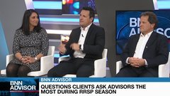 Topics advisors are asked about most, including bitcoin and cannabis stocks