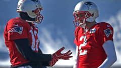 Brady absent from Patriots practice