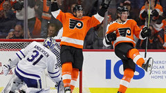 NHL: Maple Leafs 2, Flyers 3 (OT)