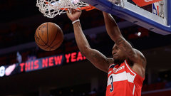 NBA: Wizards 122, Pistons 112