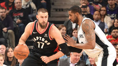 Raps grind out a win with big games from Lowry, Valanciunas