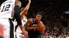 NBA: Spurs 83, Raptors 86
