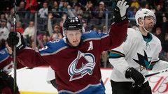 NHL: Sharks 3, Avalanche 5