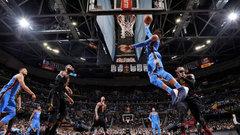 NBA: Thunder 148, Cavaliers 124