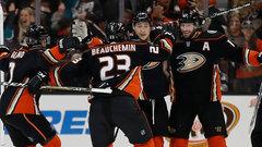 NHL: Kings 1, Ducks 2