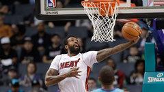 NBA: Heat 106, Hornets 105