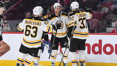 NHL: Bruins 4, Canadiens 1