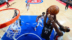 NBA: Nets 101, Pistons 100